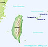 Map of Yonaguni Island - Yonaguni Jima